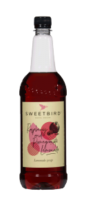 Sweetbird Raspberry & Pomegranate Syrup - 1 Litre